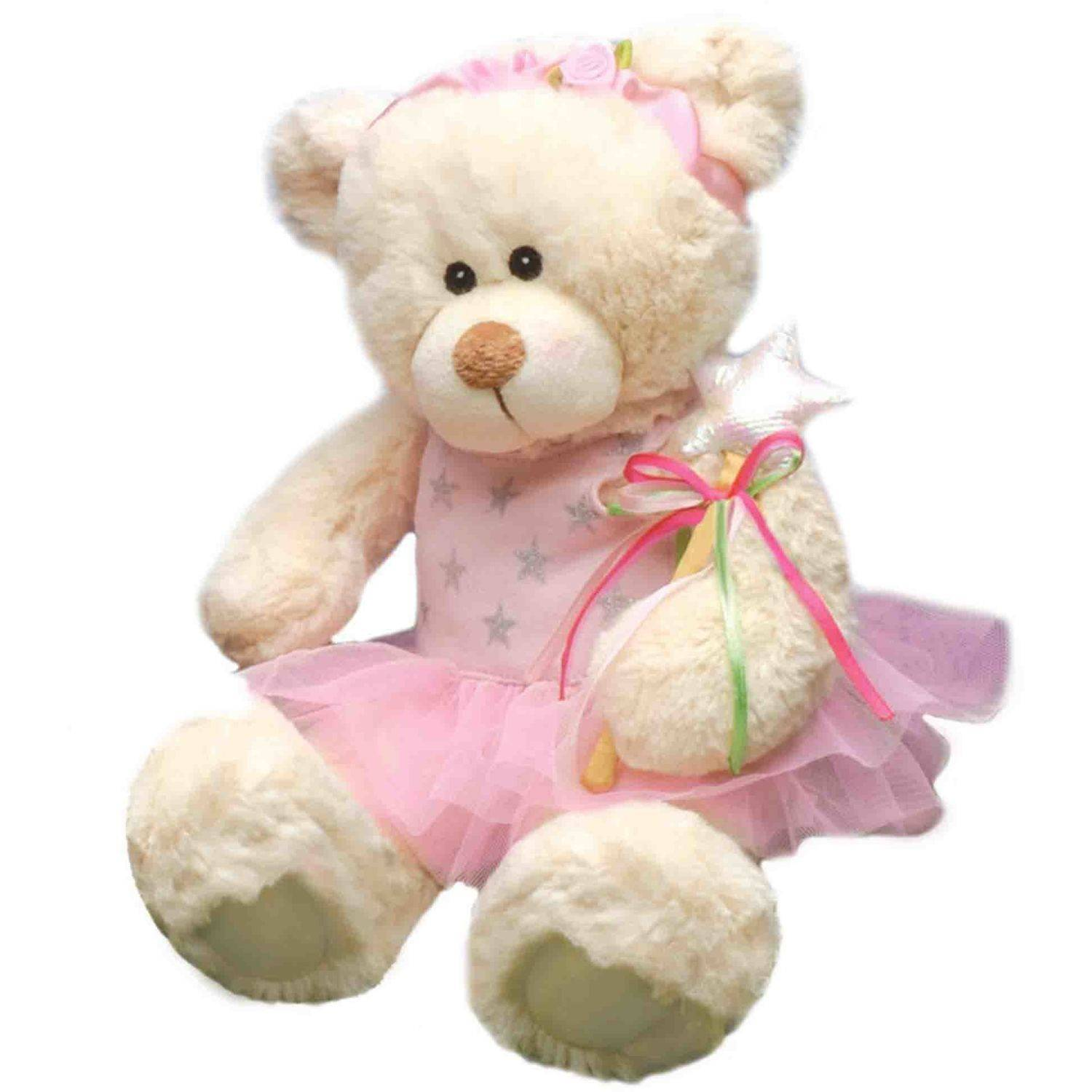 "First and Main, Inc. 7"" Ballerina Bear Tillie Twinkletoes Stuffed Animal"