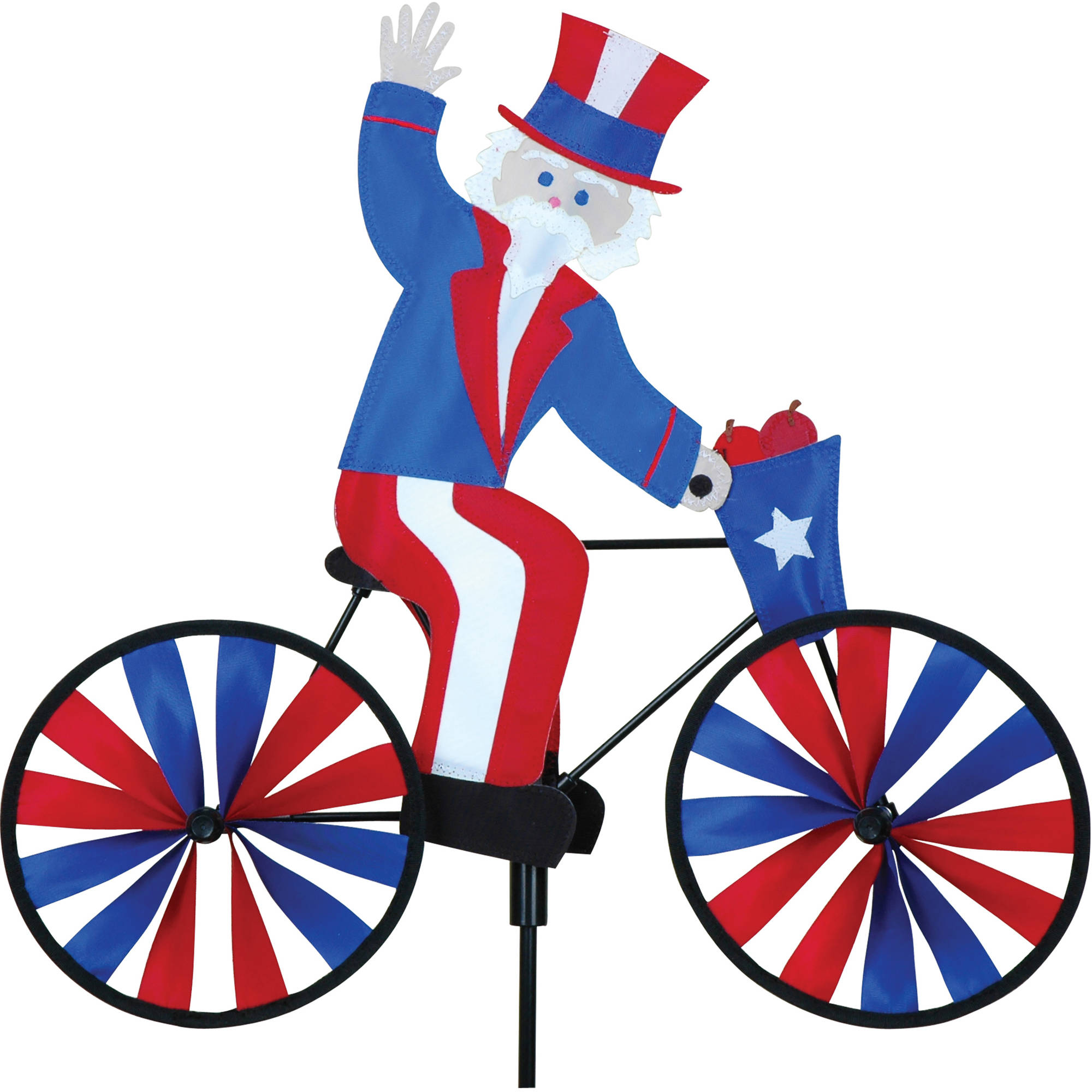 "Premier Designs 20"" Bike Spinner, Uncle Sam"