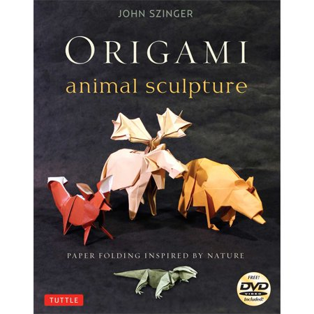Origami Animal Sculpture   Paper Folding Inspired By Nature  Fold And Display Intermediate To Advanced Origami Art  Origami Book With 22 Models And Dvd