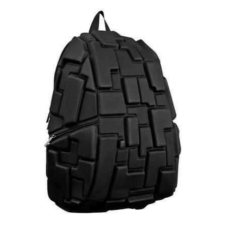 Madpax Blok Black Out Full Pack Urban School Book Bag Backpack