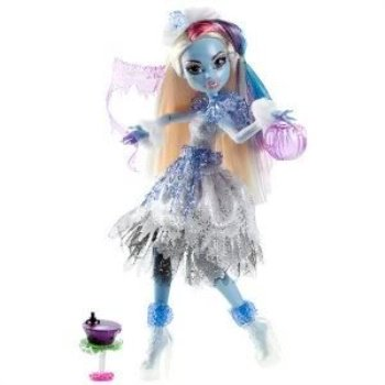 Toy / Game Fangtastic Monster High Ghouls Rule Abbey Bominable With Overthetop Costumes For Ages 6 Years and Up by 4KIDS](Abbey Bominable Makeup)