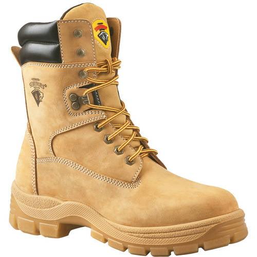 Rugged Blue Original Steel Toe Work Boots - Tan - 10.5M - Walmart.com