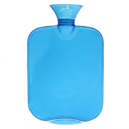 Moaere Premium Classic Rubber Transparent Hot Water Bottle 2 Liter with Knit Cover Great for Pain Relief Hot and Cold Therapy  Cyber Monday