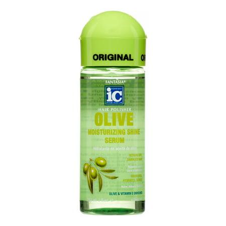 Fantasia Hair Polisher Olive Serum, 2 Oz
