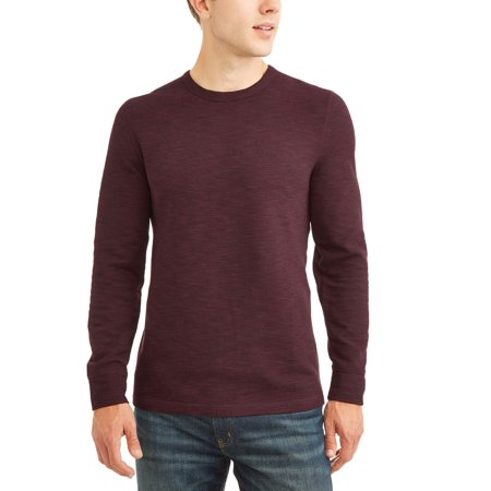 George Men's Long Sleeve Thermal Crew, up to size 5XL (Tall Thermal)