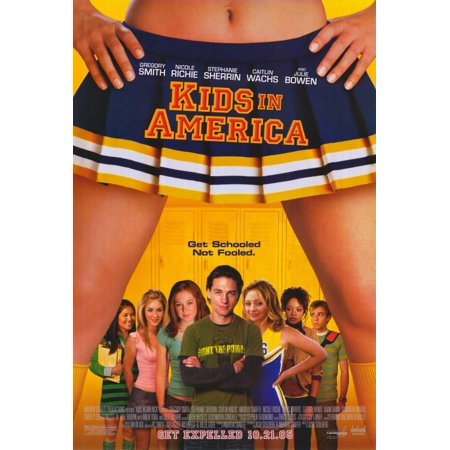Kids In America Poster Movie Mini Promo