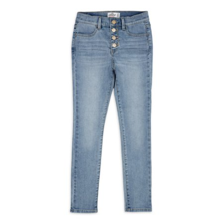 Jordache Girls Super Skinny High Rise Jeans, Slim Sizes 5-18