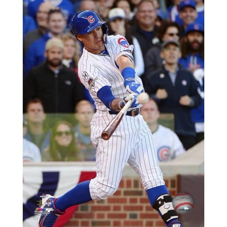Javier Baez hits a three-run Home Run Game 4 of the 2015 National League Division Series Photo Print