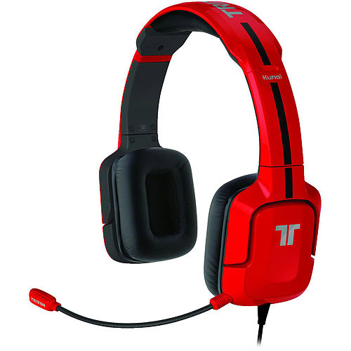 tritton kunai stereo headset for ps3 - red