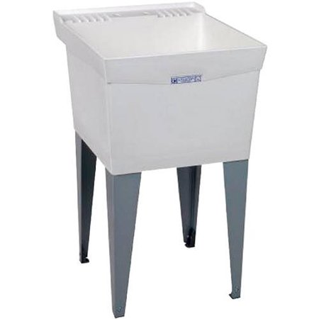 Floor Mount Utility Sink : Mustee 19F Utilatub Laundry Tub 24