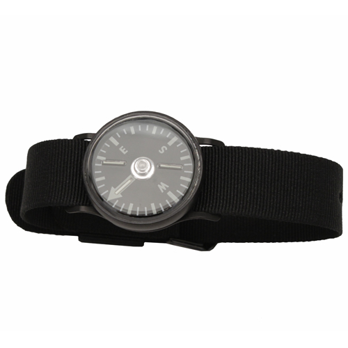 Cammenga Tritium Wrist Compass with Black Wristband by Cammenga