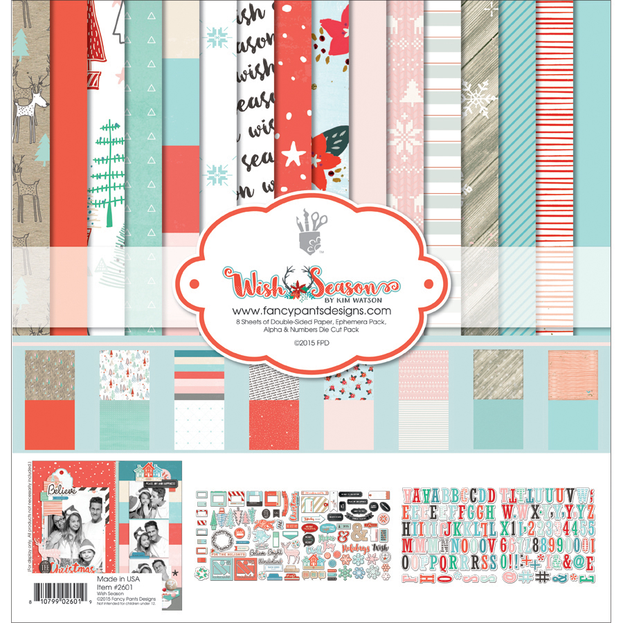Fancy Pants Designs Collection Kit 12 Inch X 12 Inch-Wish Season