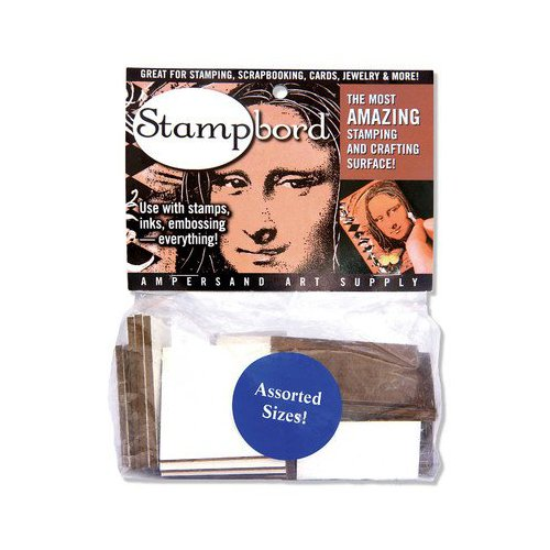 AMPERSAND ART SUPPLY STBAG12AST STAMPBORD 1/2 POUND BAG ASSORTED
