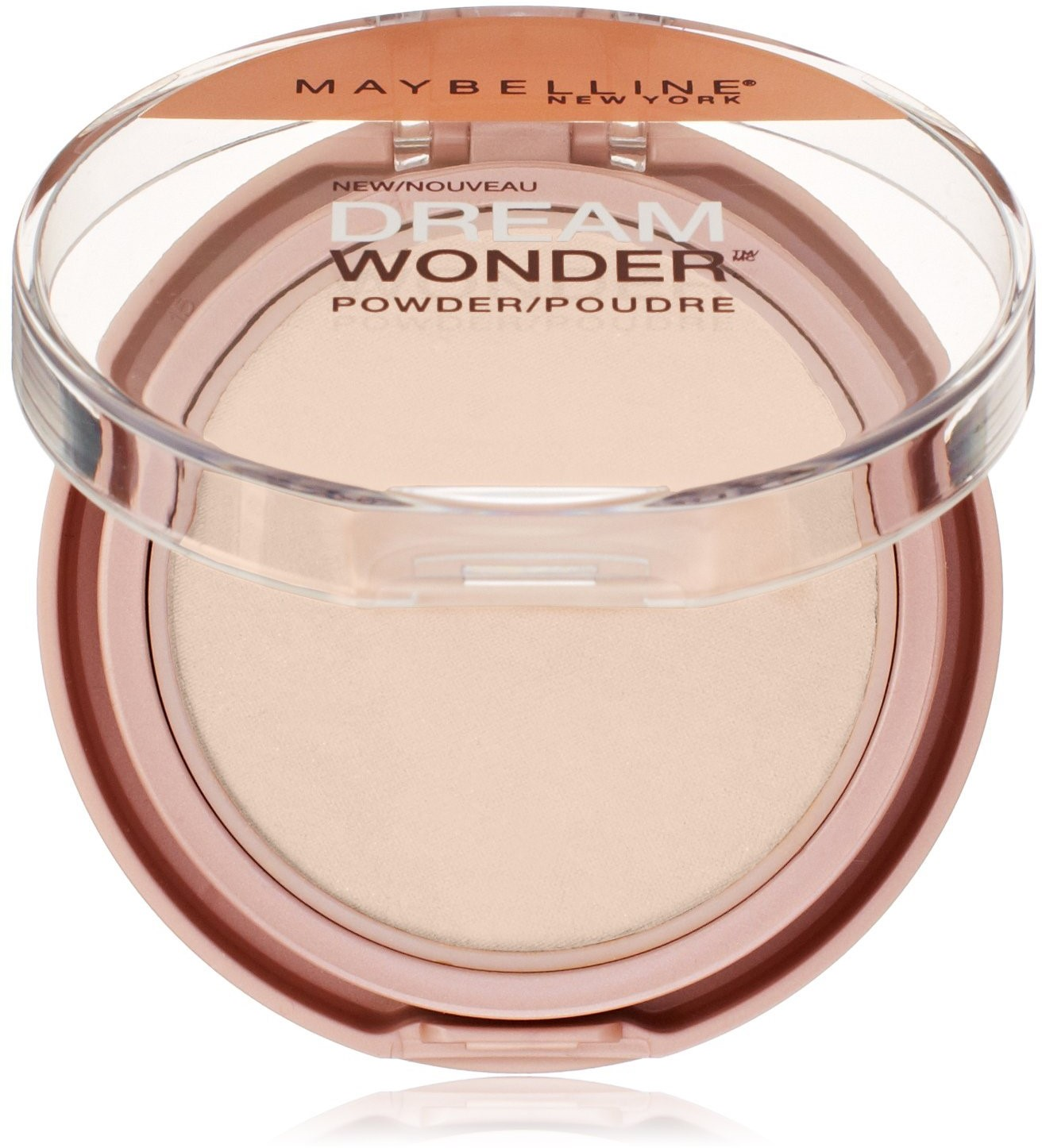 Maybelline New York Dream Wonder Powder, Porcelain Ivory [10] 0.19 oz (Pack of 3)
