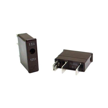 PL4150L Genuine Original Daito 15A 125V PLUG-IN Brown TWO Connector Fuses USA Adapters - VGA Hdmi DVI DP RCA & S-Video