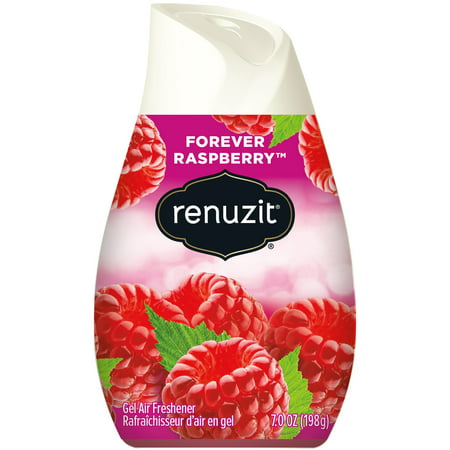 Renuzit Solid Gel Air Freshener Cone, Forever Raspberry, 7.0 Ounce