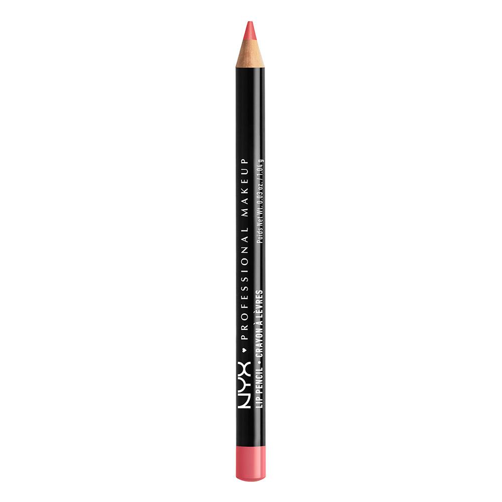 NYX Professional Makeup Slim Lip Pencil, Hot Red