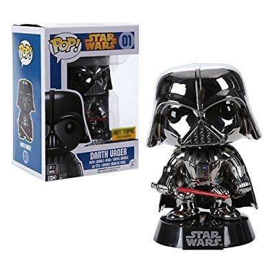 pop! - star wars series: star wars - darth vader (chrome plated