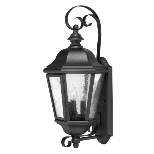 """Hinkley Lighting 1670-LL Edgewater 3-Light 21"""" High Outdoor Wall Sconce with Seedy Glass Shade by Hinkley Lighting"""