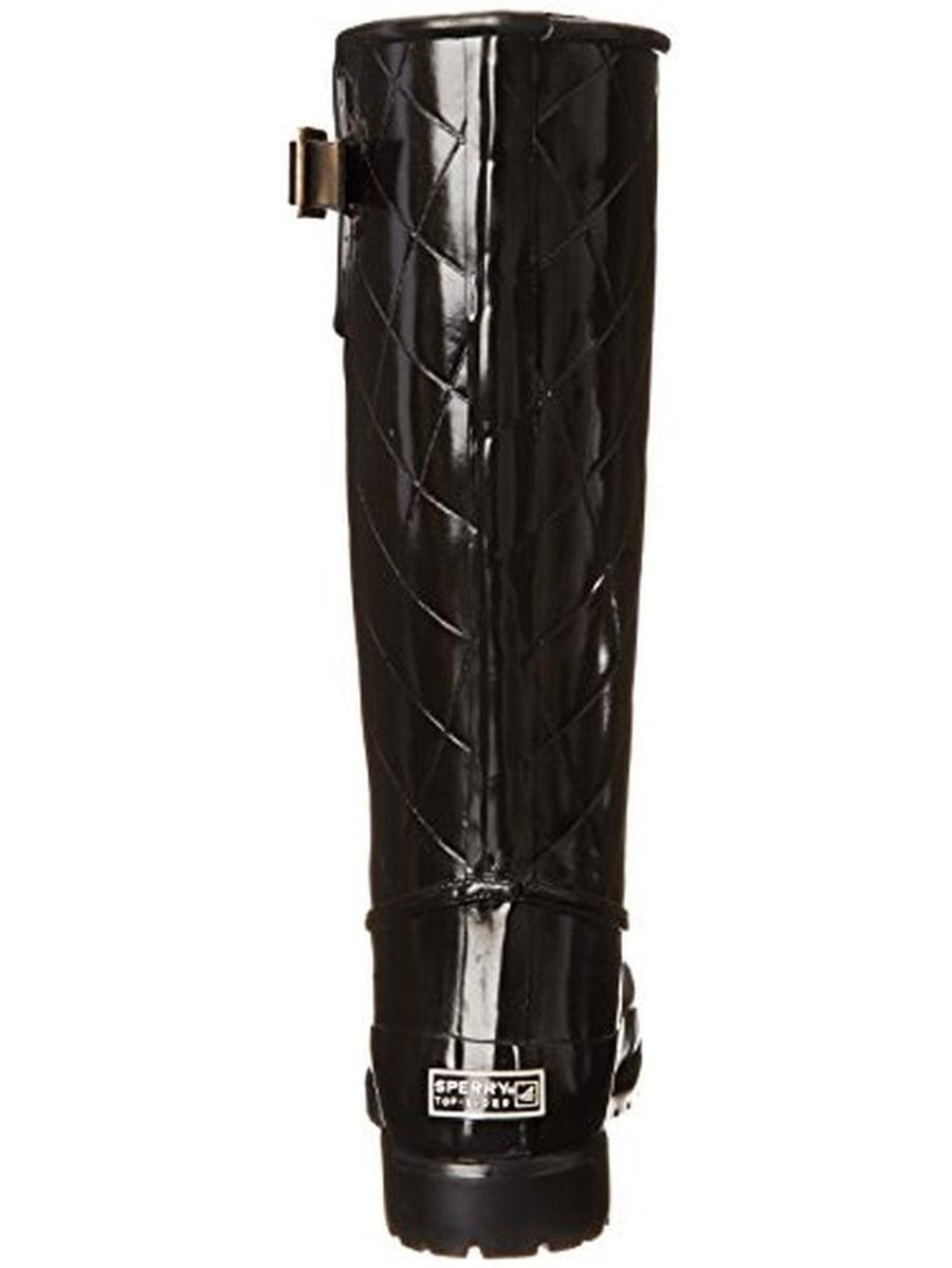 Sperry Womens Pelican III Rubber Knee-High Rain Boots