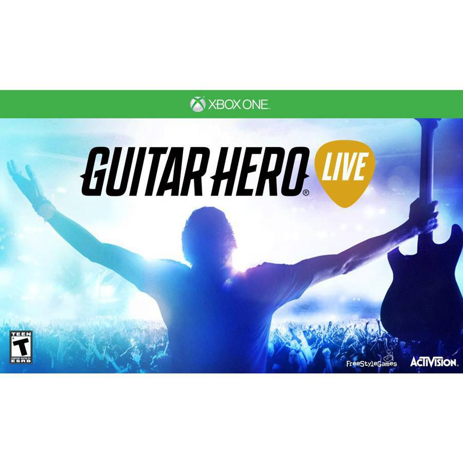 Guitar Hero Live w/ Guitar (Xbox ONE)