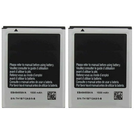 Replacement Battery 1500mAh for Samsung Gravity / SGH-T599 Phone Models (2 Pk) ()