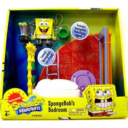 Spongebob Squarepants Spongebob's Bedroom Playset by
