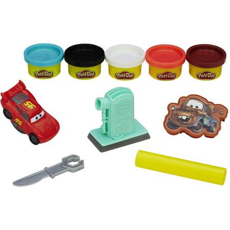 Play-Doh Disney Pixar Cars Set with 5 Cans of Dough