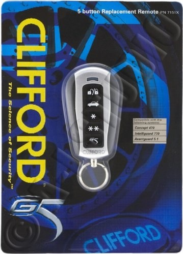 CLIFFORD 7211X RESPONDER ONE Replacement Remote Control Transmitter