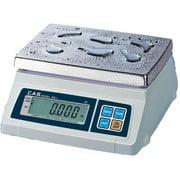 CAS SW-10W Portable Digital Scale Washdown  10 lb x 0 005 lb  Legal for Trade