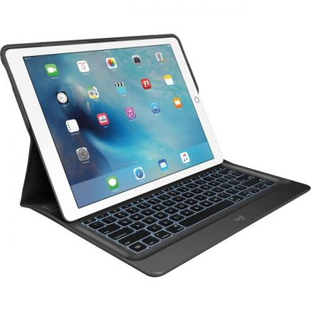 Logitech CREATE Keyboard/Cover Case (Folio) for iPad Pro - Black