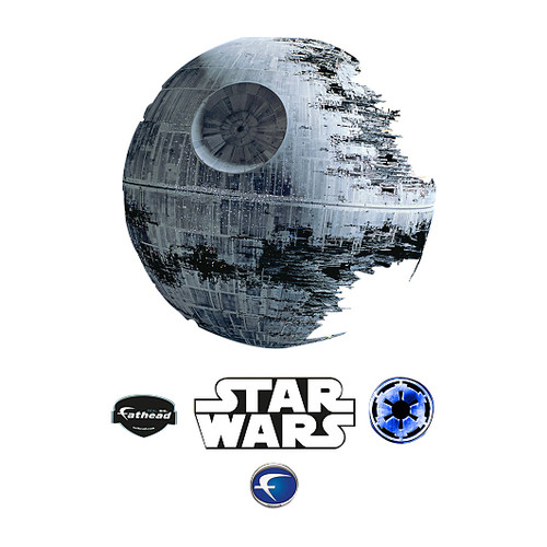 Fathead Star Wars Death Star Wall Decal
