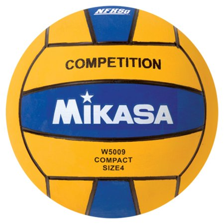 Mikasa USA W5000 Color Series Size 4 Mini Olympic Water or Canoe Polo Ball, (Mini Water Polo Balls)
