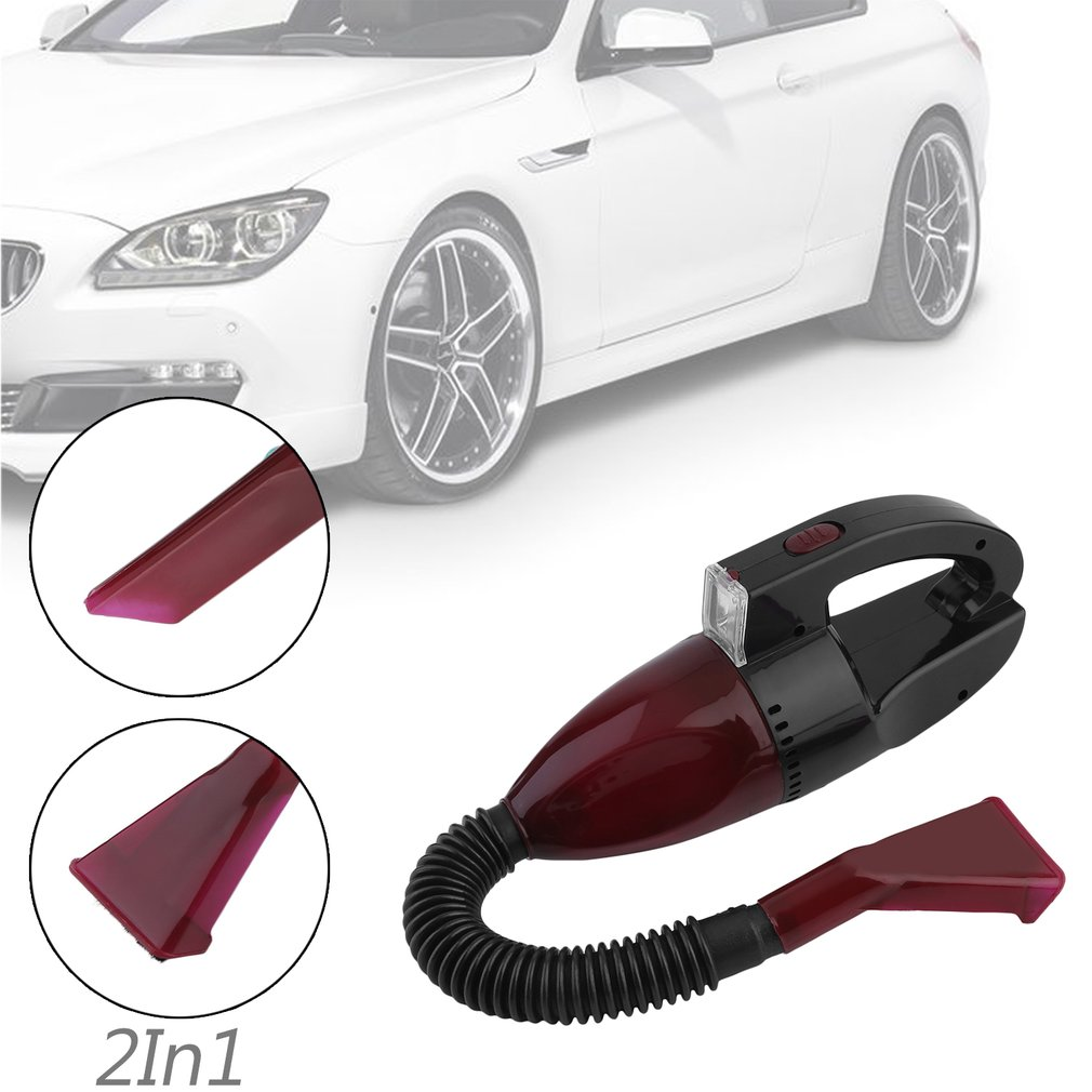 Portable Mini Wet And Dry Dual-Use Car Vacuum Cleaner High Power Handheld Auto Vehicles Dirt Dust Cleaning Cleaner