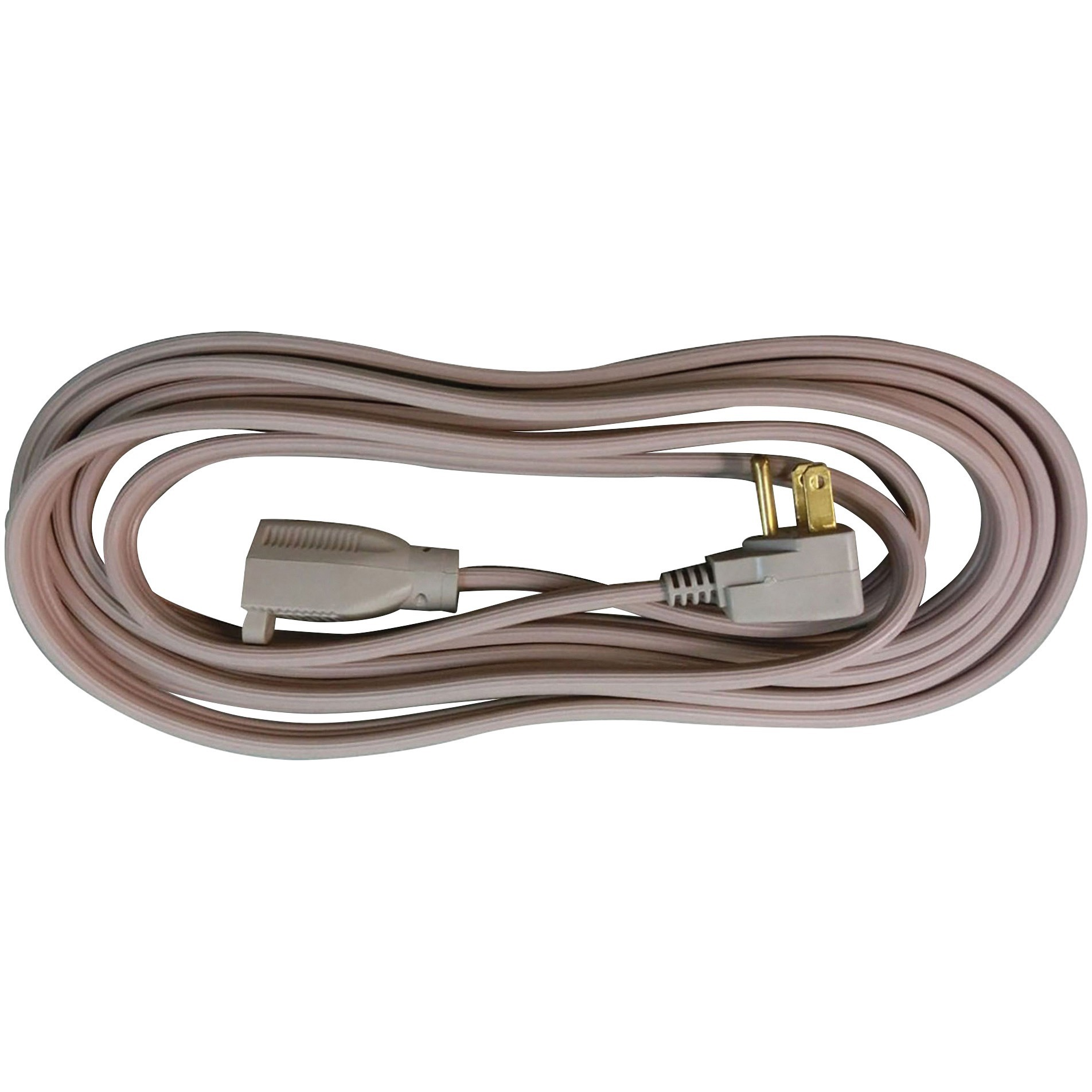 Compucessory Heavy Duty Indoor Extension Cord, Beige