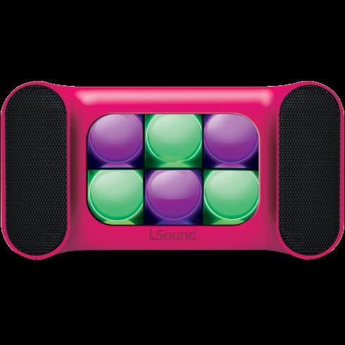 iGlowSounds Mini Bluetooth Speaker PINK