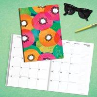2020 Poppy Floral Print Medium Monthly Planner