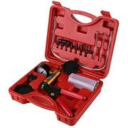 Vacuum Pump Kit,Hand Held Brake Bleeder Tester Set Bleed Kit Vacuum Pump Car Motorbike Bleeding Tools