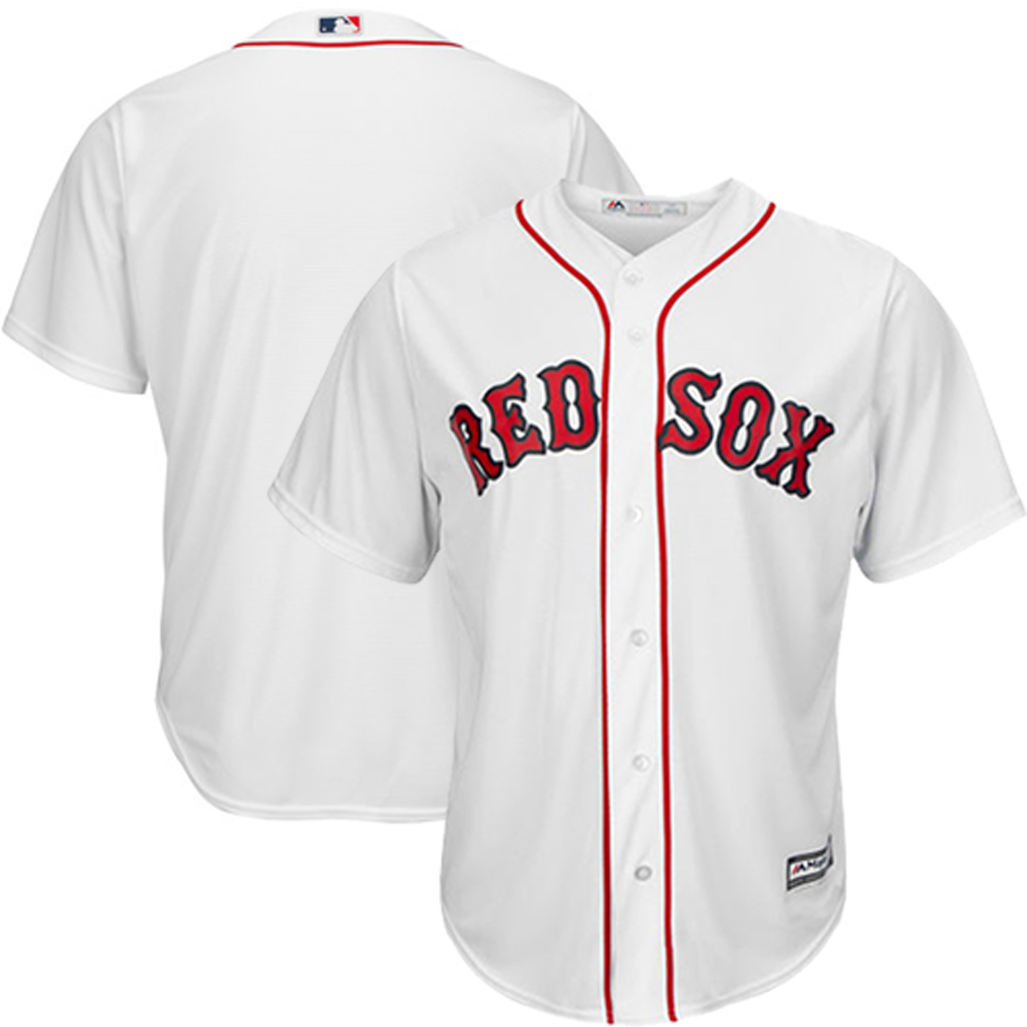Boston Red Sox Majestic Official Cool Base Jersey - White