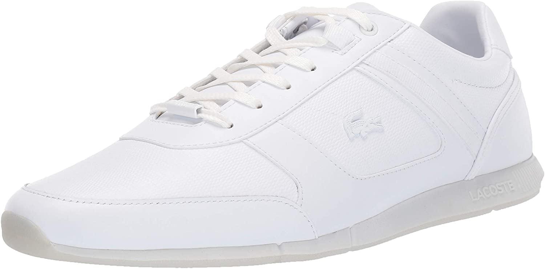 Lacoste Mens Menerva Sneaker, White