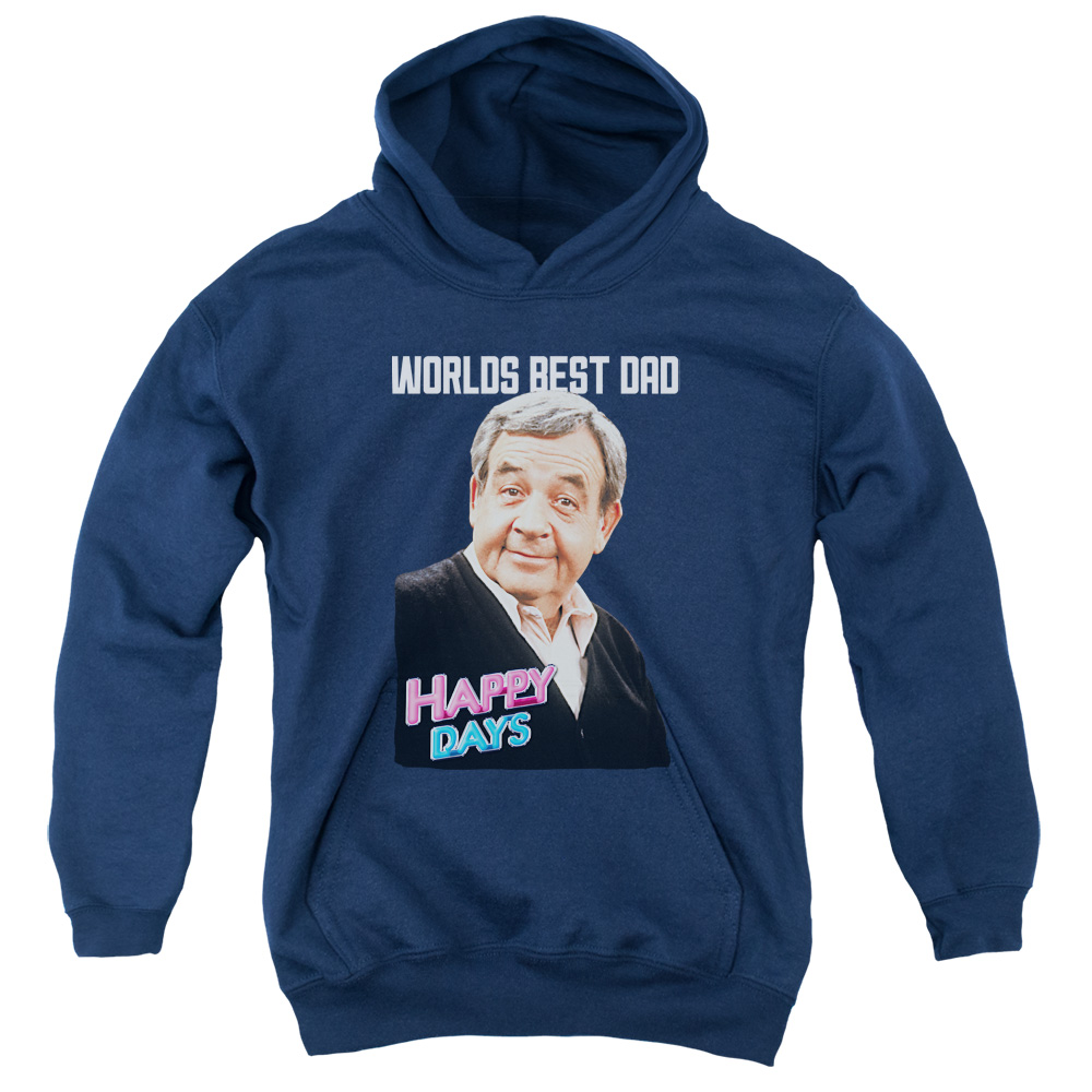 Happy Days Best Dad Big Boys Pullover Hoodie