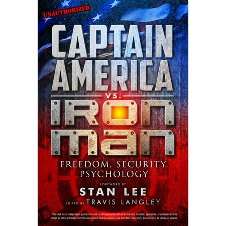 Captain America vs. Iron Man : Freedom, Security, Psychology (Halloween Psychology Comic)