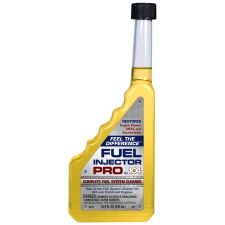 - 104+ (29214) Fuel Injector Pro, Fuel System Cleaner for Direct Injection and Traditional Engines, 16 fl oz