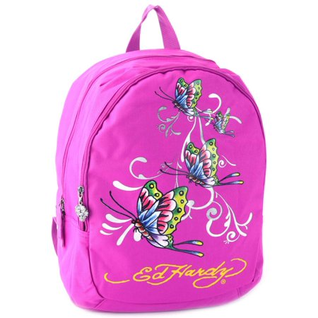 - Misha Butterfly Glitter Backpack- Violet Purple