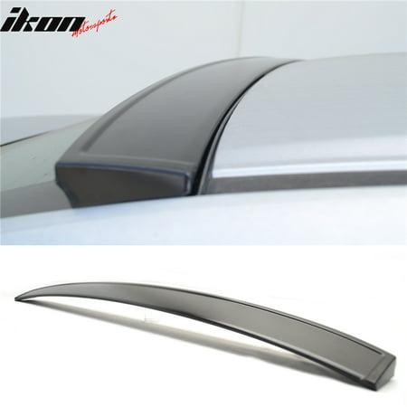 - Fits 06-15 Honda Civic Sedan Ikon V2 Rear Roof Spoiler Wing Unpainted