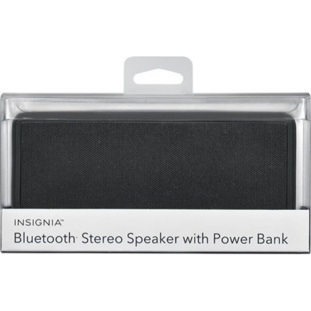 insignia - portable bluetooth stereo speaker - (Insignia Bluetooth Speaker Drivers For Windows 7)