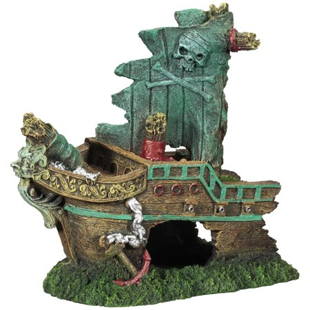 (2 Pack) LARGE SHIP ORNAMENT
