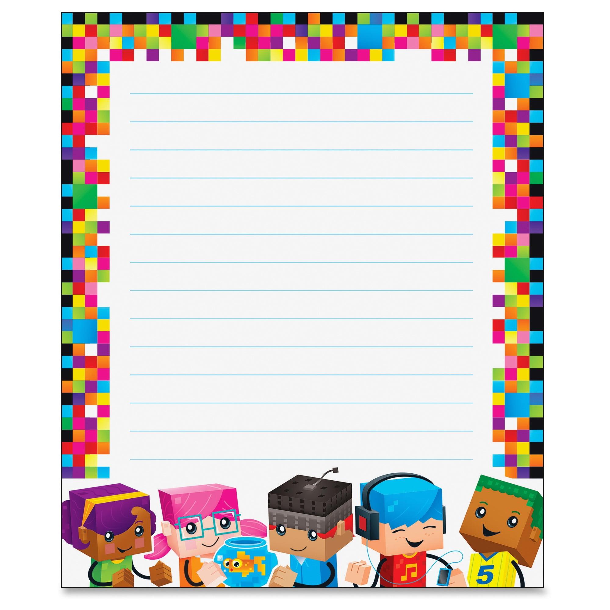 Trend Blockstars Rectangle Notepad 50 Sheets Printed