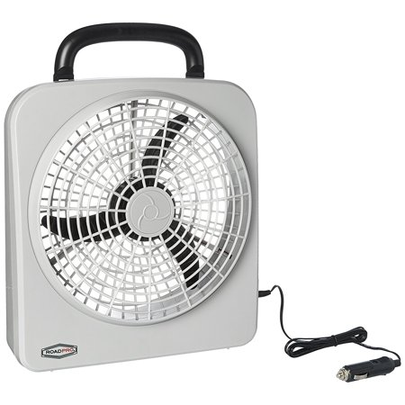 Roadpro Rp8000 12 Volt   Battery Operated 10 Portable Fan