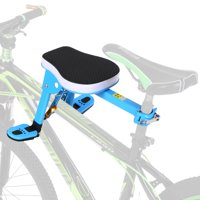 Front Mount Child Bicycle Seat Kids Carrier Children Safety Front Seat Saddle Cushion for Mountain Bike
